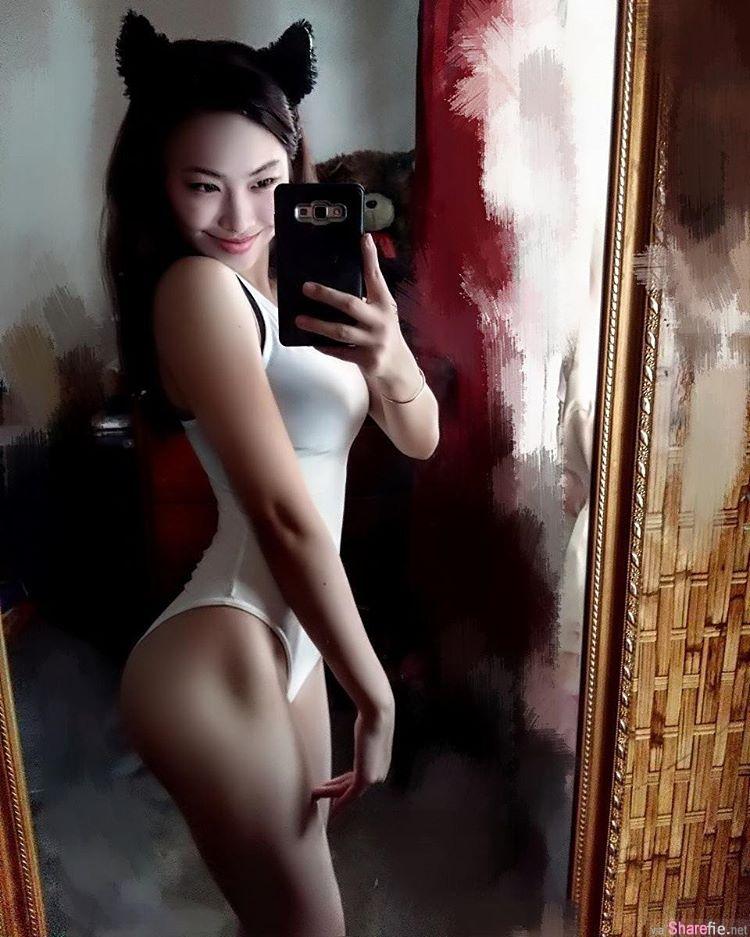 大马校花级性感学妹 Stella Chiang 瘦腰翘臀 清凉裸背照让宅男陷入疯狂