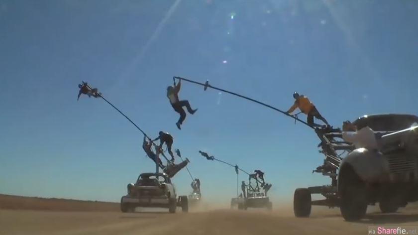 《疯狂麦斯:愤怒道》0特效影片曝光  精彩爆破、危险刺激的飞车追逐场景原来都是实景拍摄