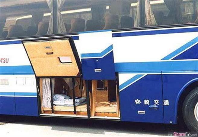 日本长途巴士司机休息室长这样 网友:好像停尸间!
