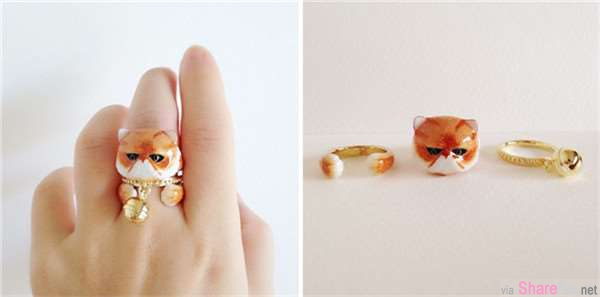 18只超可爱的三合一动物戒指 爆萌的组装搭配让不少女生开始抓狂