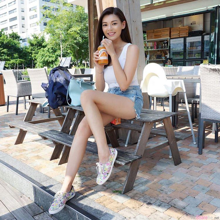香港正妹 方敏婷 精緻五官傲人上围 网友: 我要你
