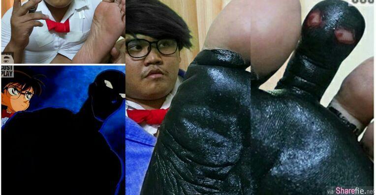 泰国低成本男又出招 18张让人笑歪的角色扮演 尤其是柯南那张笑喷了