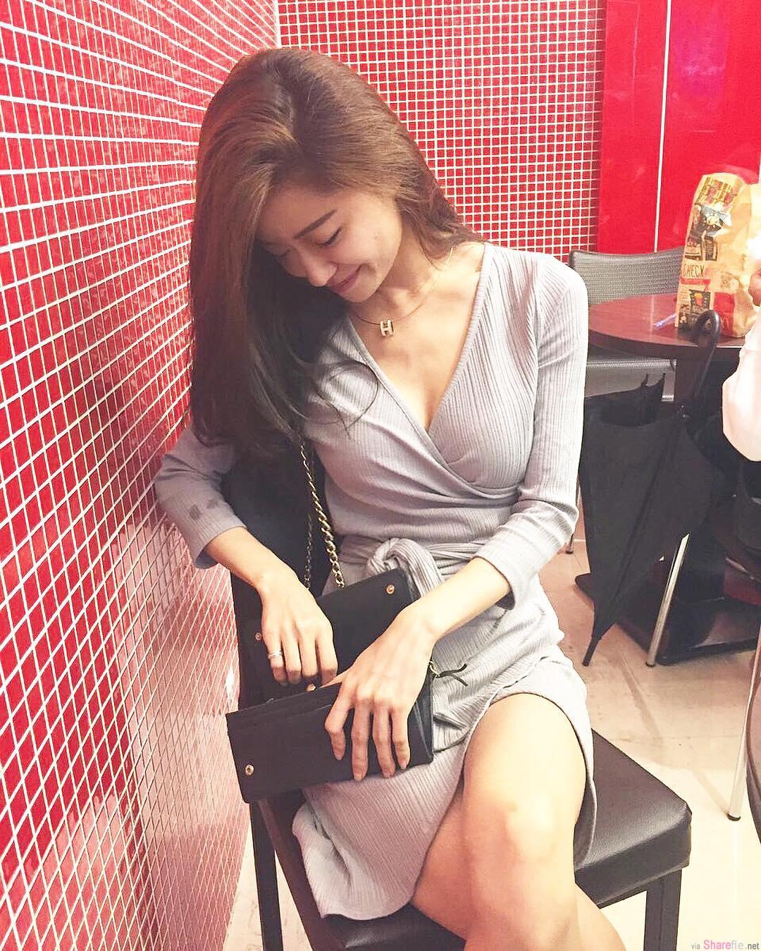 网店正妹Nico Tseng,骨干型娇小可爱但形状却很突出