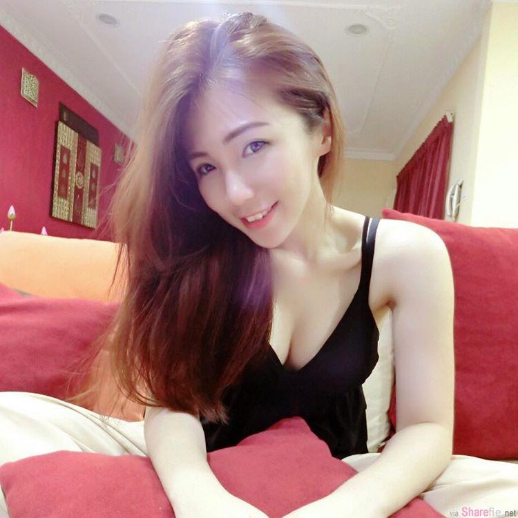 大马正妹 ANNQI 邓安琪 浑圆红衣让人视线久久无法移开