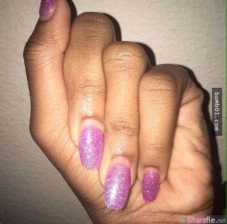 她PO了一张「刚刚涂好指甲油」的照片,没想到竟意外被陌生网友掀起模仿热潮