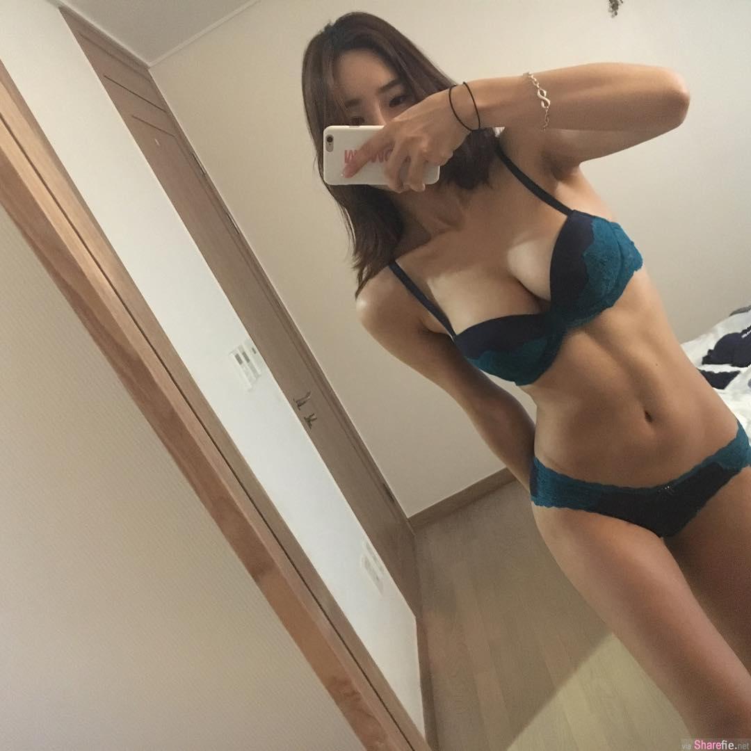 韩国正妹 mj.monde  喜爱自拍大展魔鬼好身材