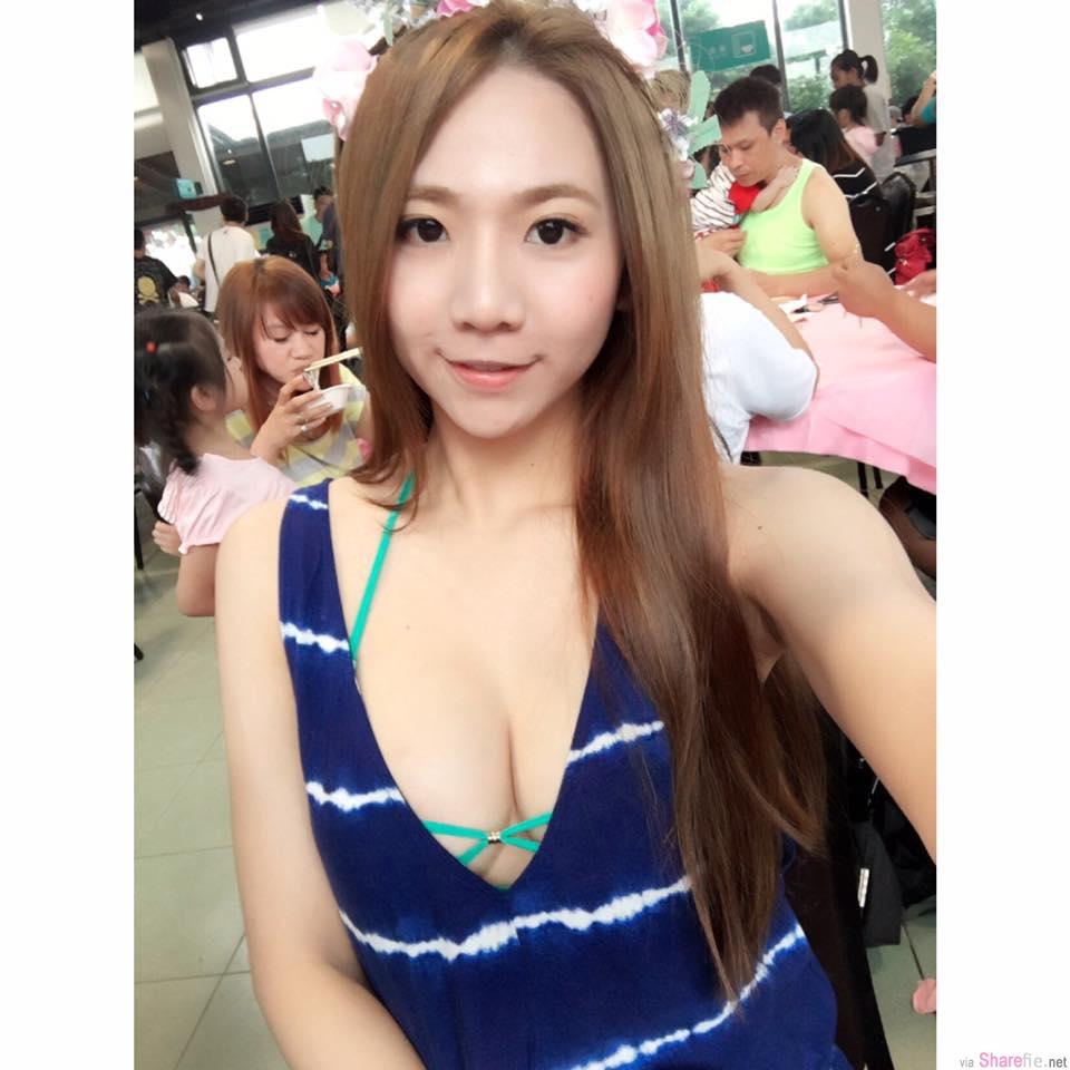 啤酒正妹Jasmine茉莉,E罩杯高挑火辣身材,网友:爆乳版朴信惠