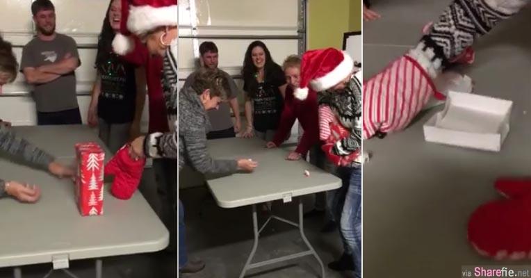 圣诞拆礼物最新玩法!他们这样玩竟然吸引5千万网友点看