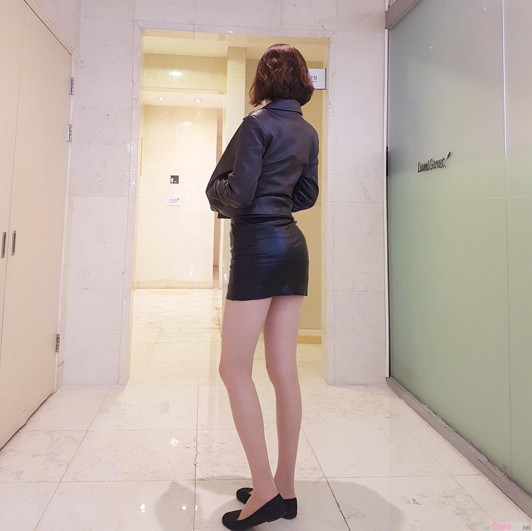 韩国美腿正妹dionyjuice白皙大腿超犯规 美腿控:可恶想摸