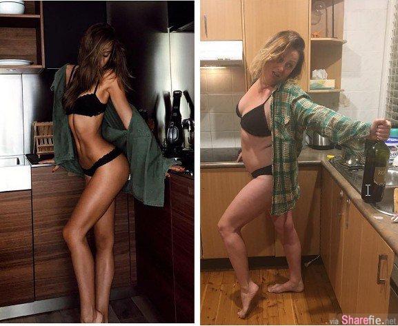 澳洲女星模仿名人 差很多但又很写实