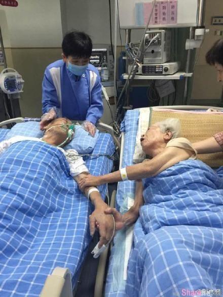 「好想老太婆···」九旬翁临终前紧握老伴手 互许来生一起走