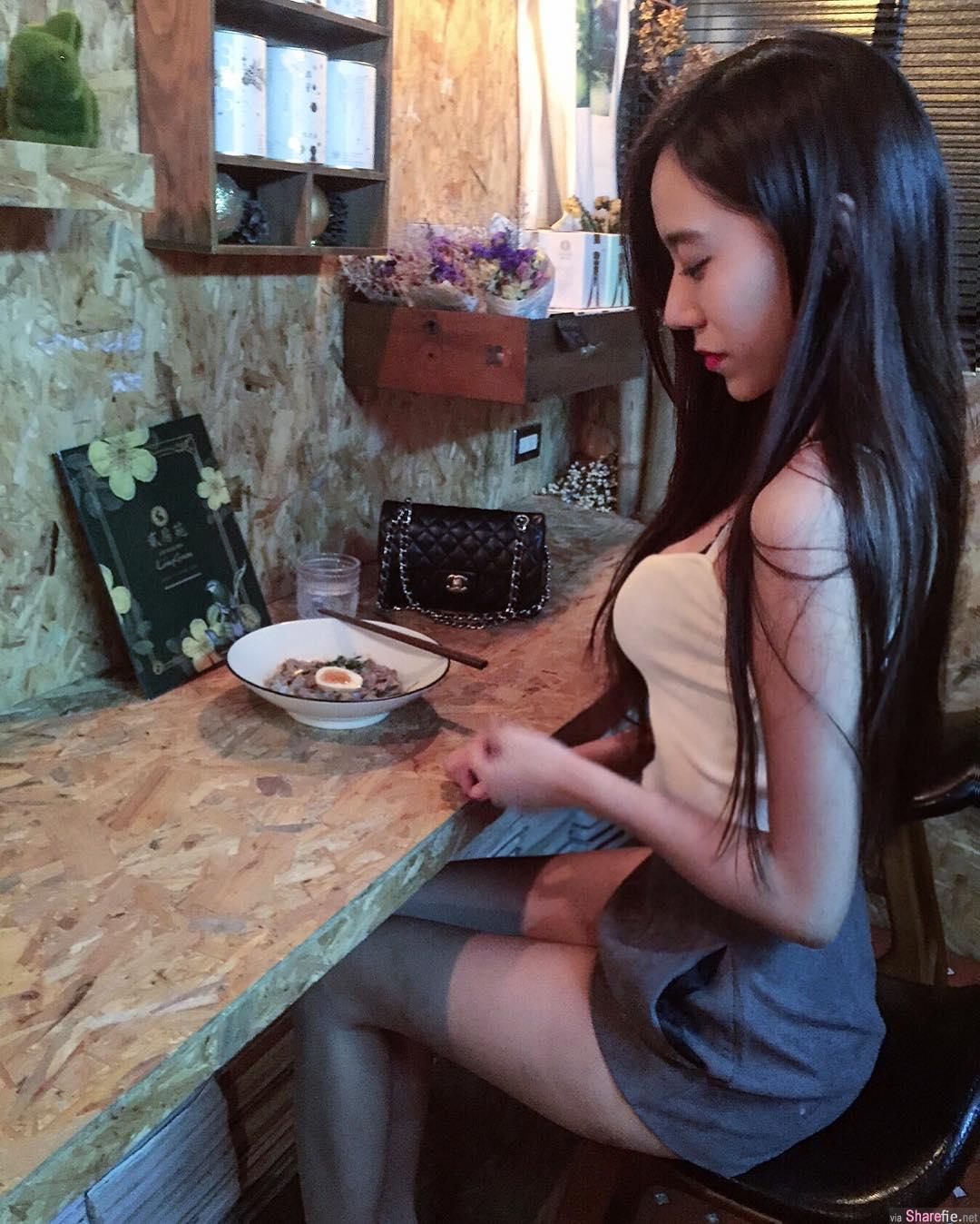 台湾正妹钱柏芊 美腿美背美肌肤