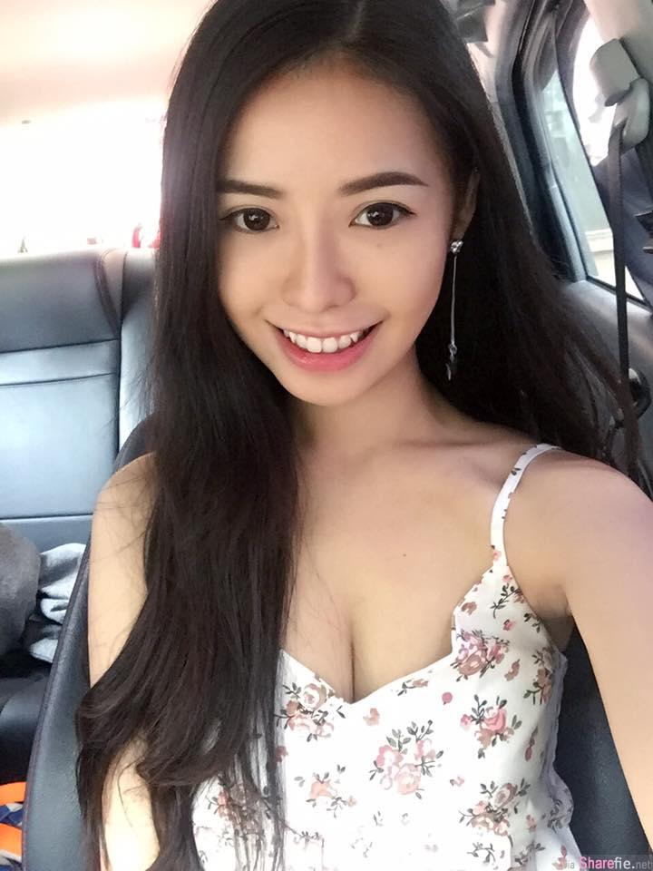 大马槟城正妹Boey Phoong 脸蛋美,身材曲线更是鼻血都快流干了