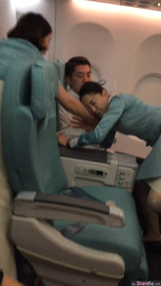 噁心!韩国富二代闹飞机吐口水 美国「情歌王子」出手相助