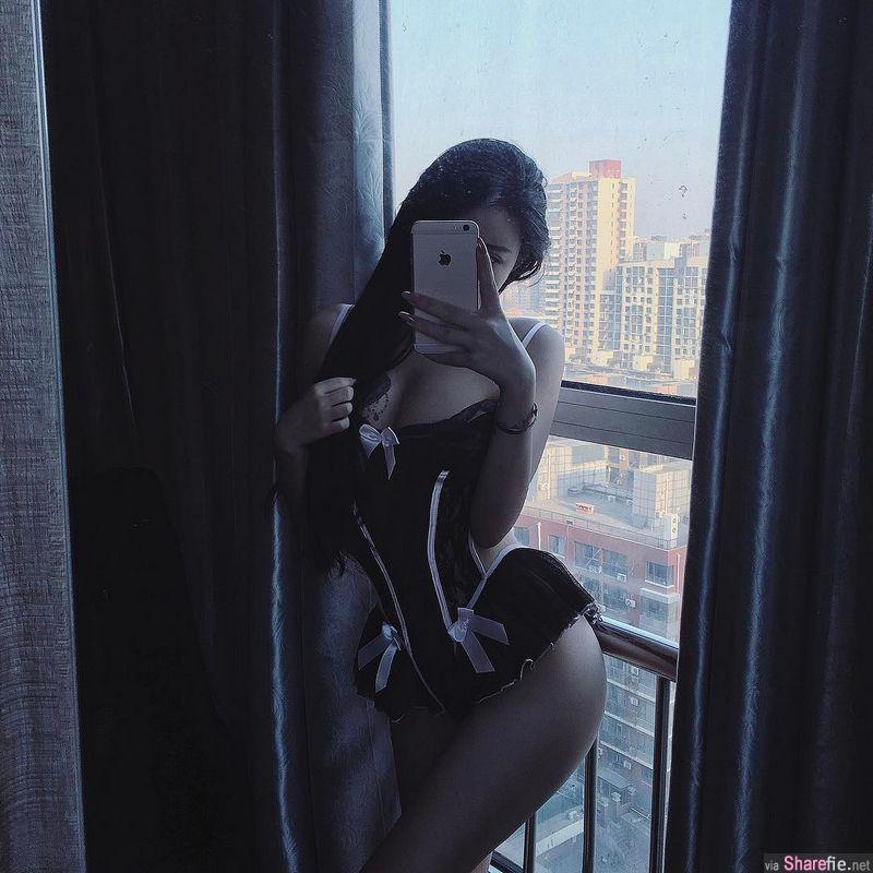 超霸气的裸背露拔罐 转过身让网友惊呆: 绝世美人