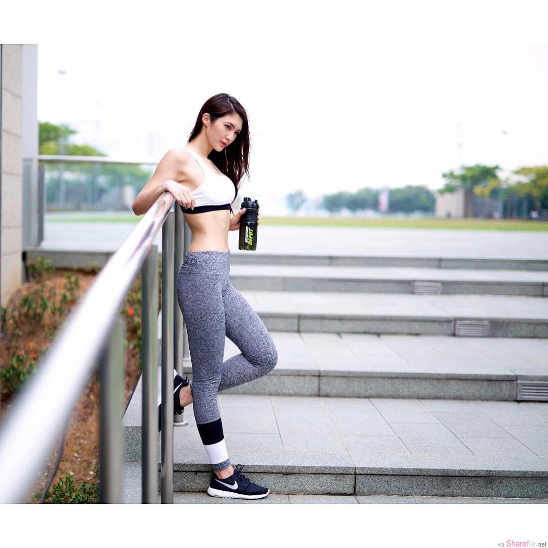 新加坡女模Priscilia Wong,美腿翘臀 网友:神似钟嘉欣
