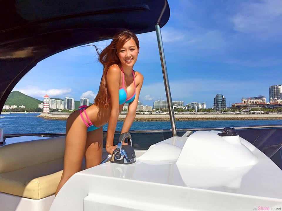 台湾超胸阳光正妹Kimberly 泡泡