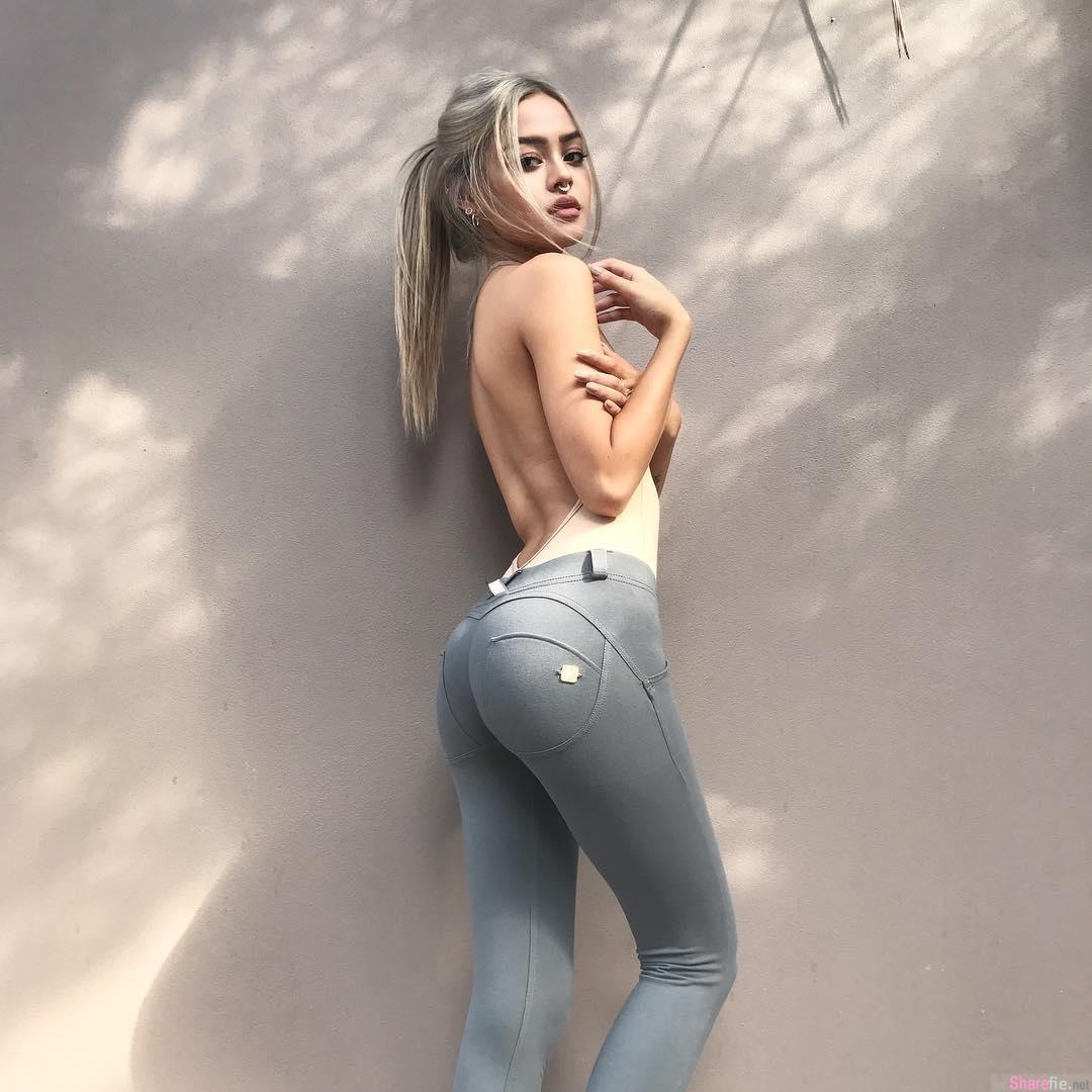 IG必追混血美女模特Lilymaymac 网友:超爱她的厚唇