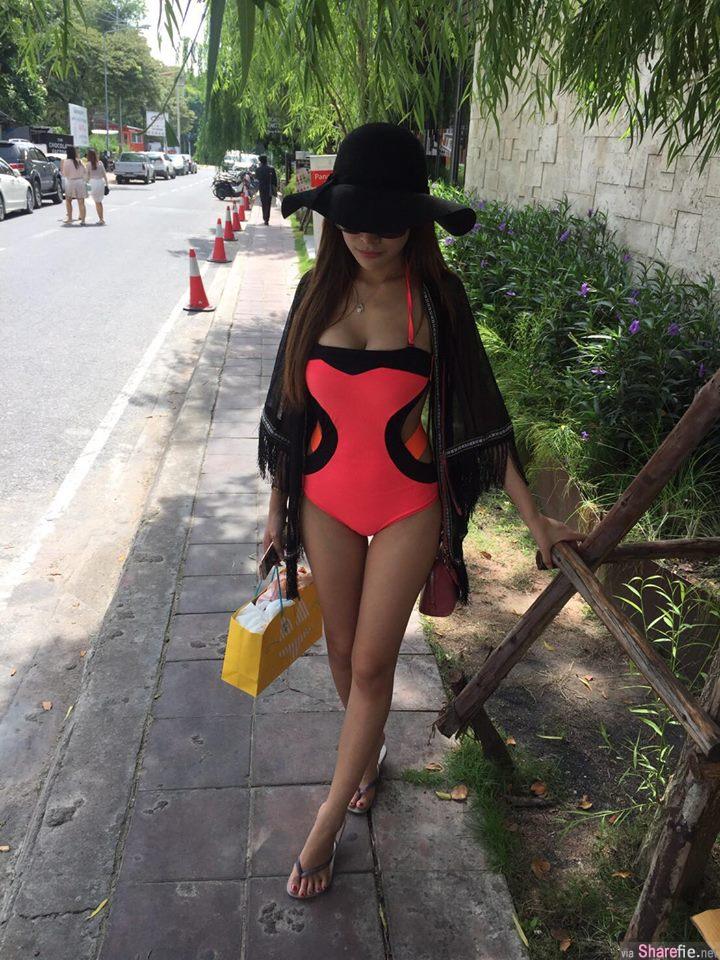 泰国素人正妹 Minta Phosri 藏不住的好身材