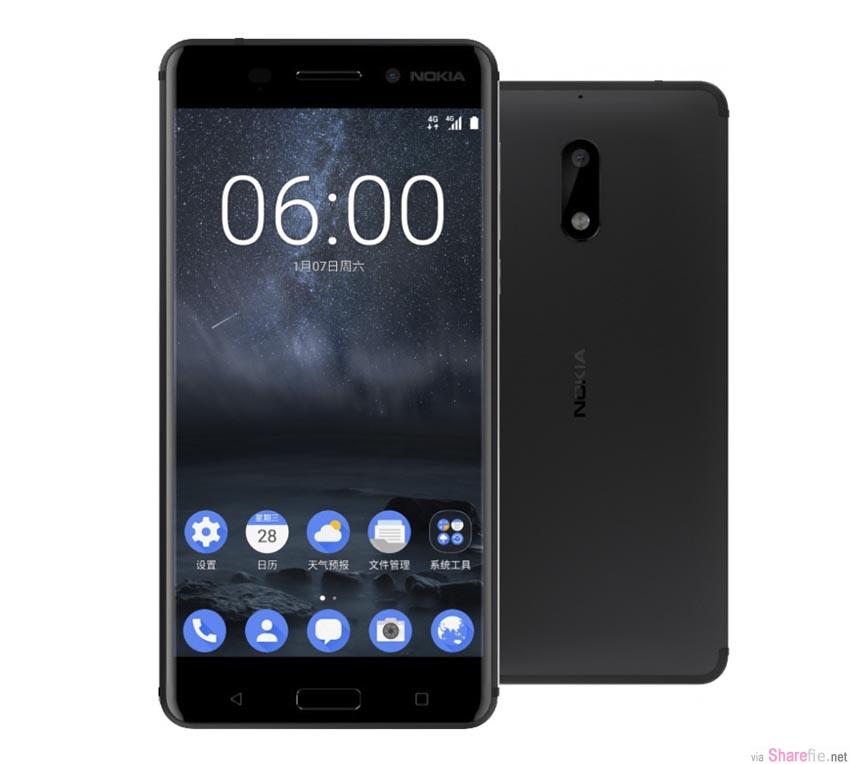 Nokia 强势回归 !最新Nokia 6 搭载5.5寸 Android 7  售价RM1100