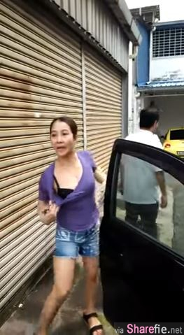 神到大马露bra姐! 她们后巷不让路2小时,女司机竟然当场放半粒