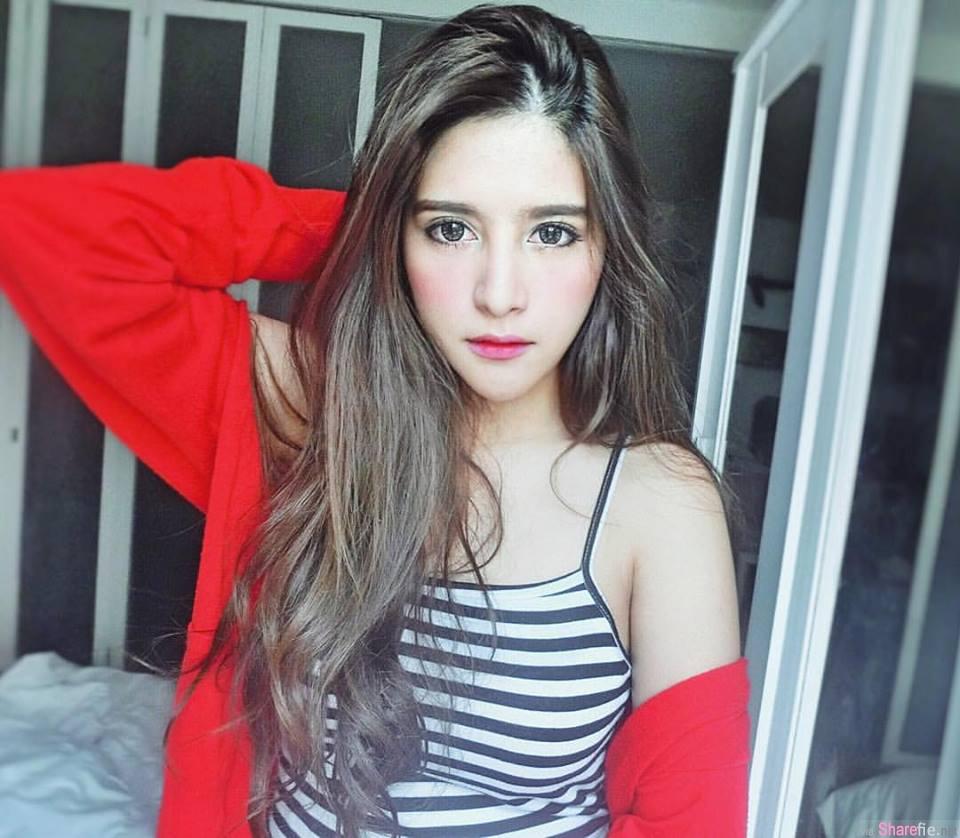 极品泰国混血美女Kingkaew Karnthiang颜值高破表