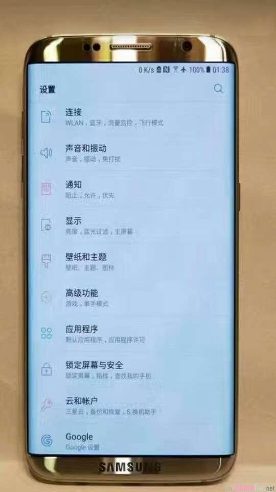 三星最新「S8」实体照不小心流出!传闻中将被除掉的Home键看来是真的!