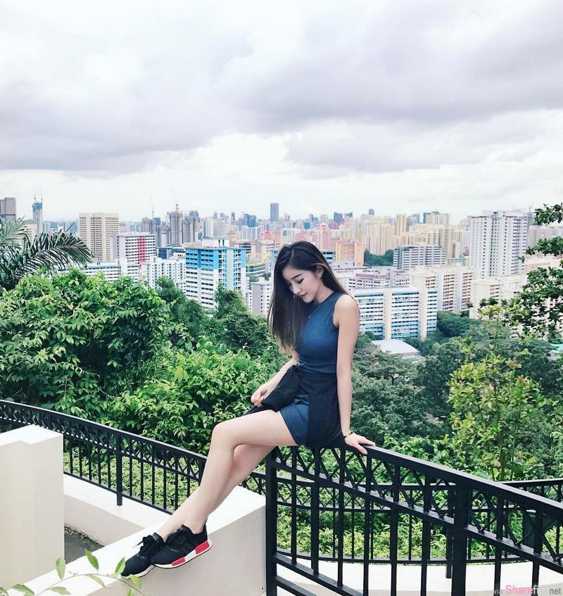 新加坡正妹 Reiee Kok 颜值惊人
