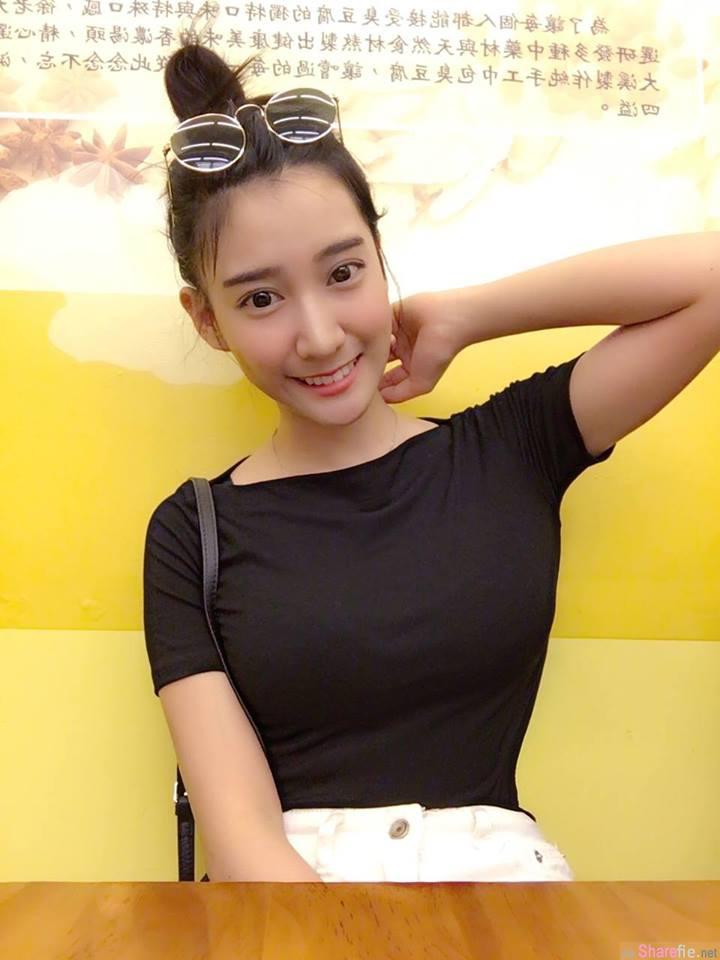 笑容甜甜,线条美美der空姐 Chloe 郑诗璇