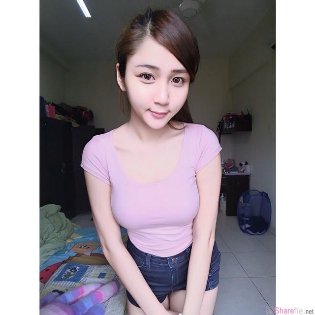 马来西亚吉隆坡正妹Yueer (月儿弯弯)白皙长腿妹