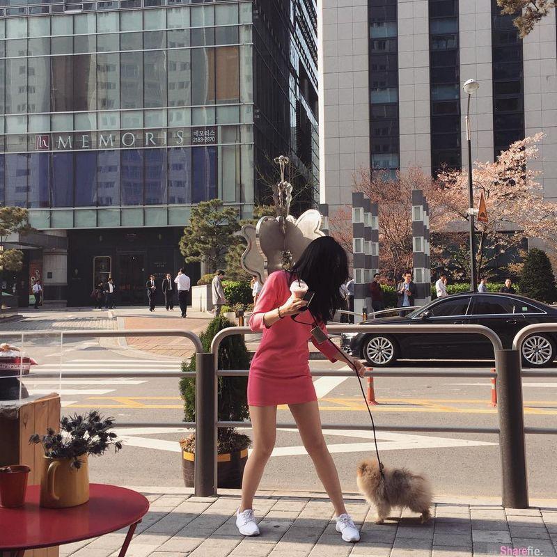韩国神级正妹 颜值杀人于无形 还有一双美腿也是致命武器