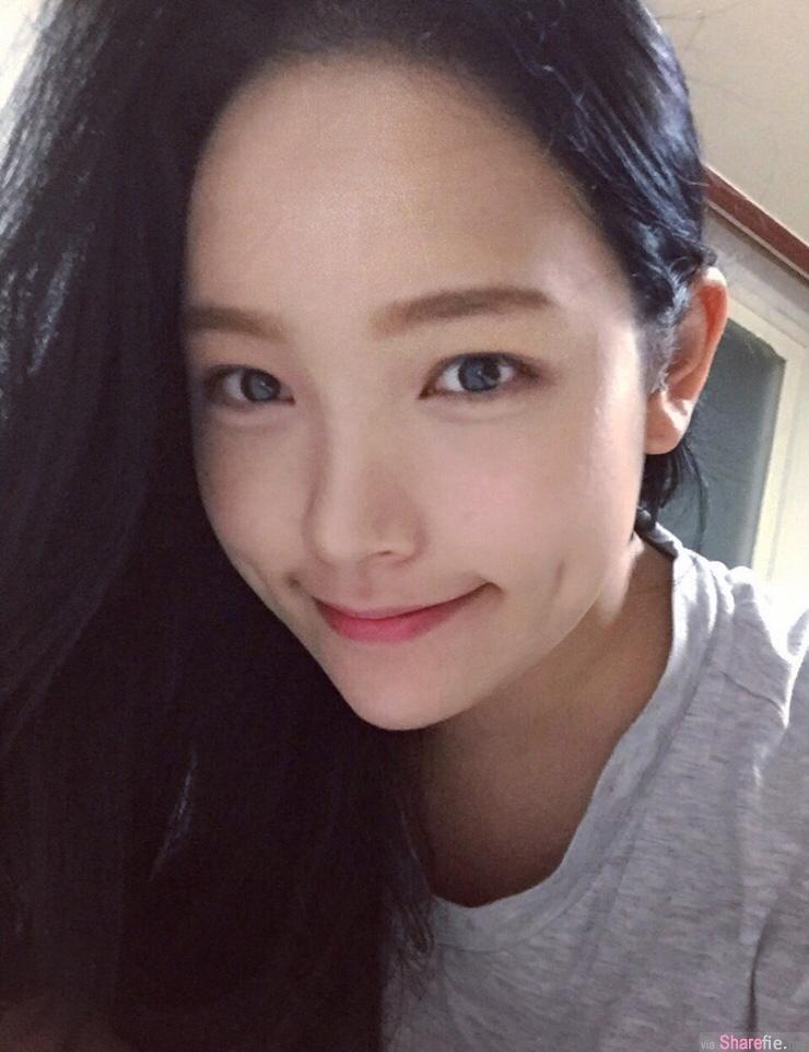 韩国正妹 小酒窝是你最美的记号 网友:有了你生命完整的刚好