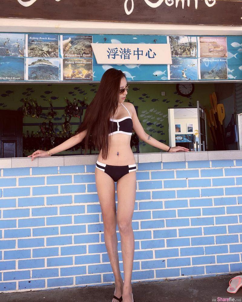 大马正妹郭泋妡 健身练出不科学身材