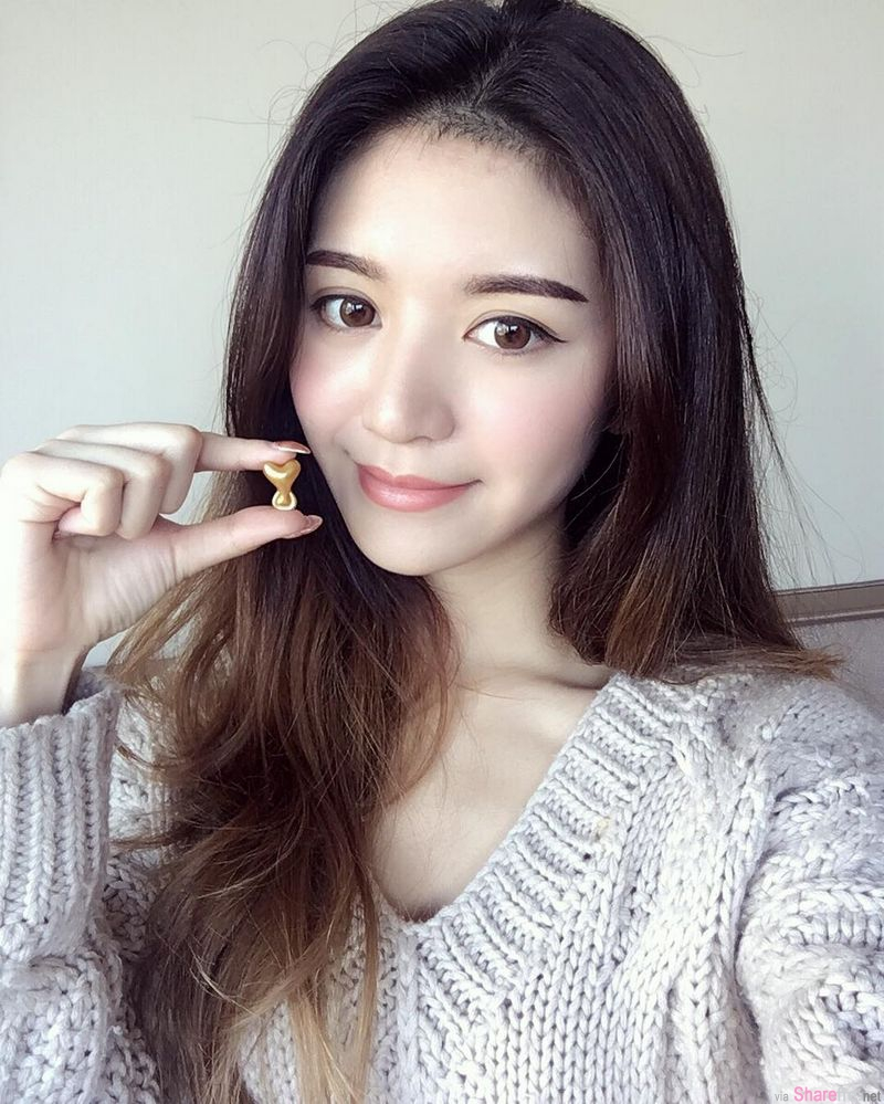 香港IG正妹 doryeung 高颜值脸蛋,我只注意到斜背包