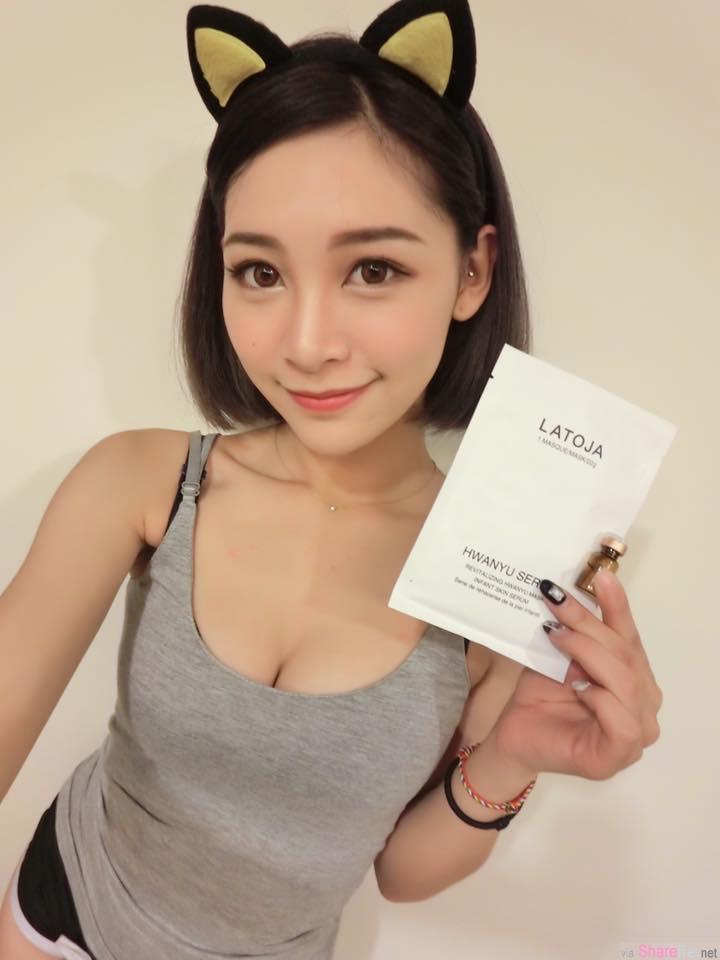 台湾正妹卢映融 超兇超甜的蜜糖妹