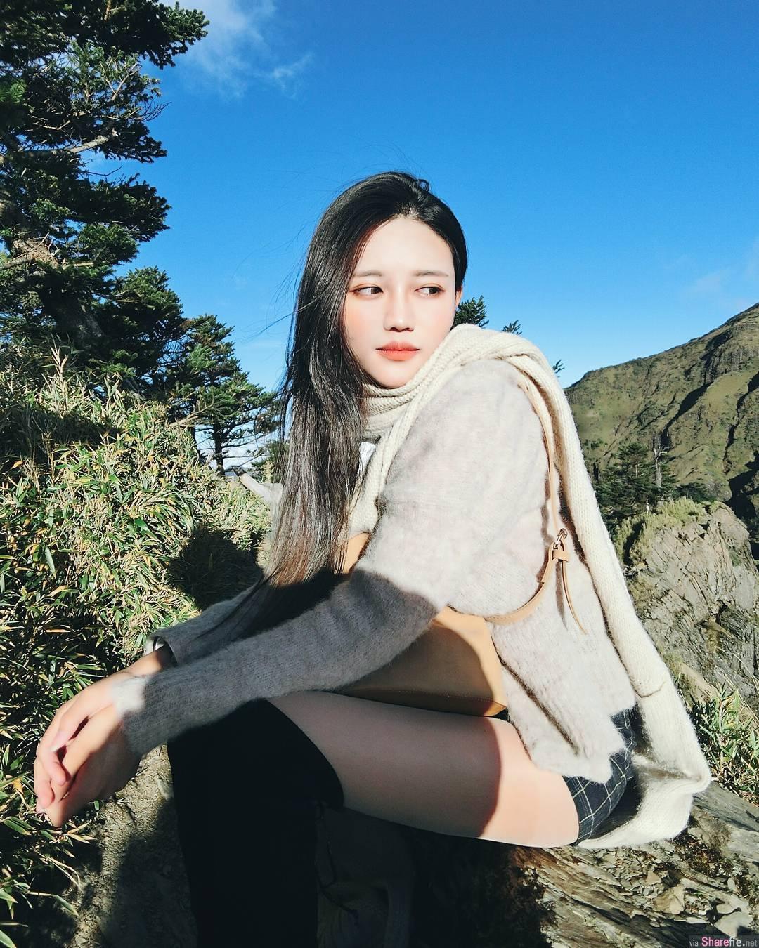 正妹苏苏,迷人气质 ,阳光,沙滩美景 网友:我只看到刺眼的比基尼