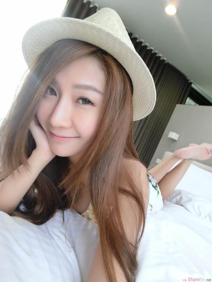 台湾正妹Irene 小头 甜美可爱,新年后竟然变大头了