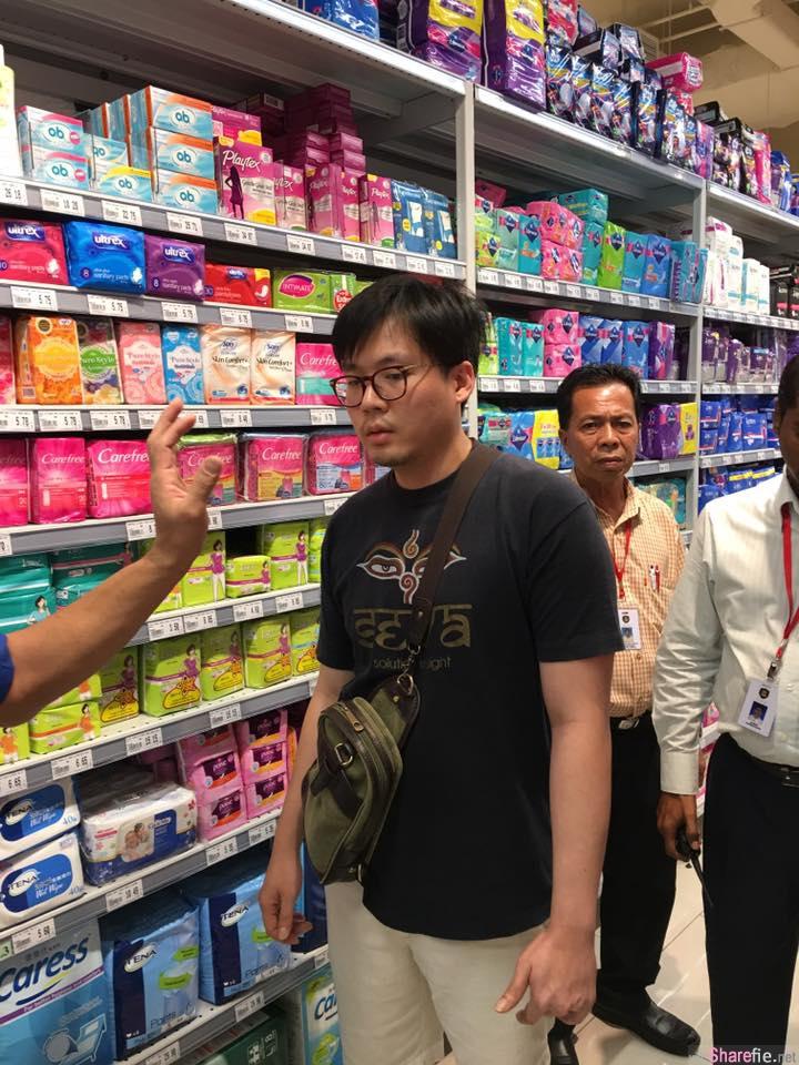 """大马精液哥出没!这名女生在KL商场购物遭变态男从背后""""泼精"""" 他被CCTV当场捉包后竟然这样做"""