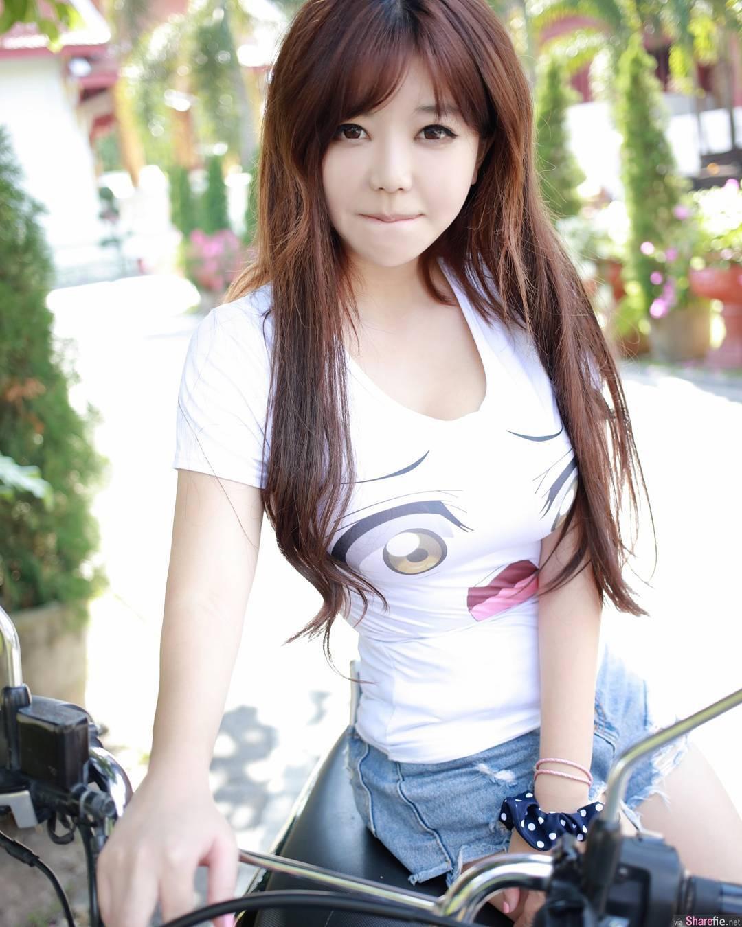 水瓶座正妹Jake Liu清新甜美身材爆好,网友:一手无法掌握