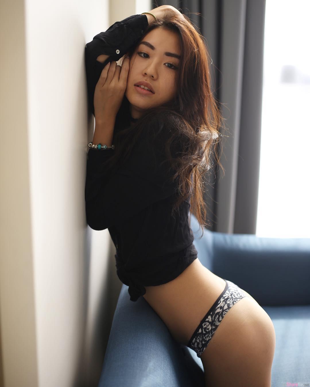 大马正妹Victoria lynn长腿翘臀,只穿上「超短裤」画面好撩人