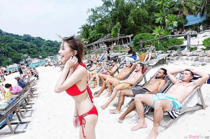 台湾网拍正妹黄琳,乳量惊人让人视线无法移开