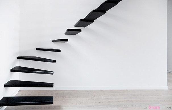 20款设计独特的楼梯 上下个楼梯原来还有这么多花样
