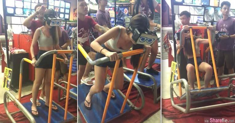 大马正妹Amanda Lok 到泰国玩云霄飞车 超狂的manual操作让网友笑翻