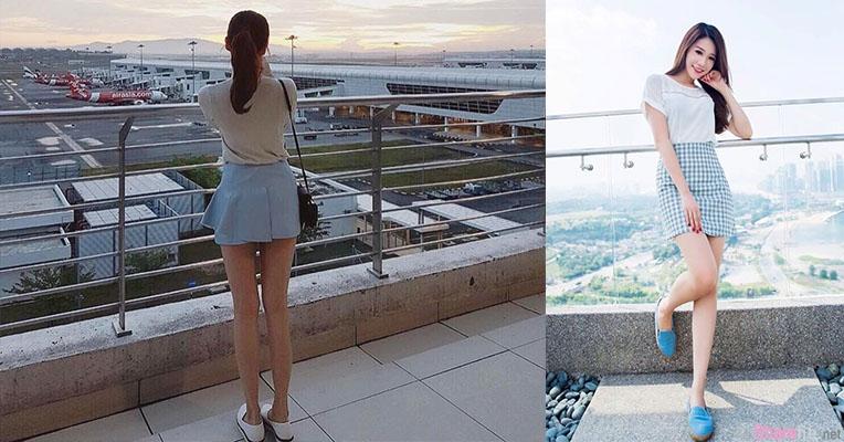 大马机场遇见短裙长腿正妹,一转身....网友:我恋爱了