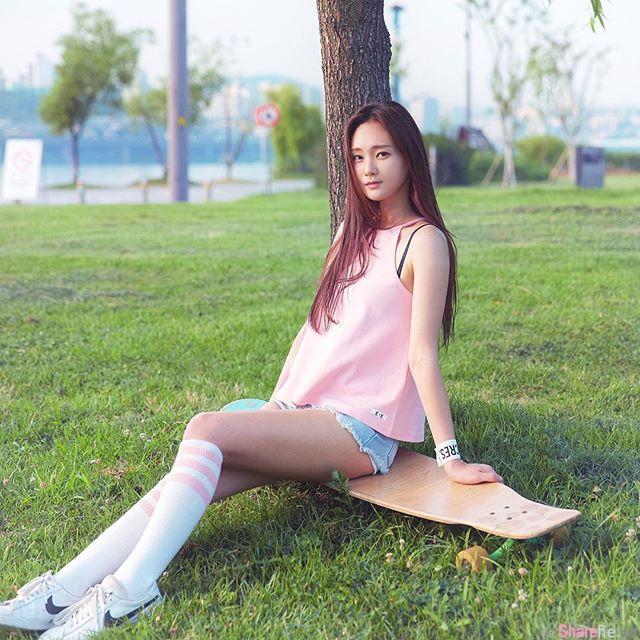 韩国长板女神 Lee Juae 美妙舞姿让人陶醉