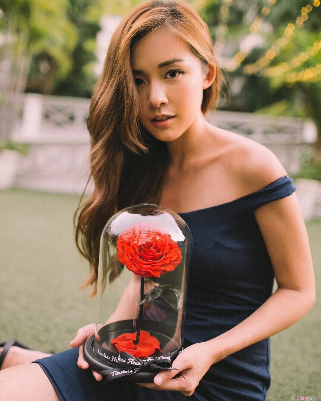 新加坡博客正妹Elaine Jasmine,火辣翘臀让线条更添完美