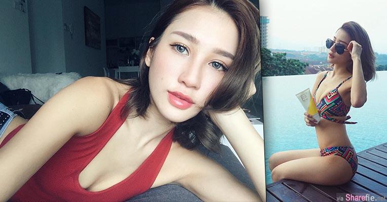 大马正妹麻豆Janiss Foong 难以抗拒的性感美唇