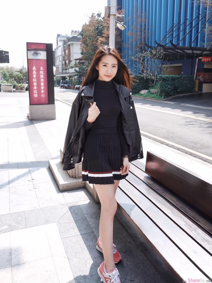 台湾正妹 涂雅君 清新甜美笑容甜到快要蛀牙了