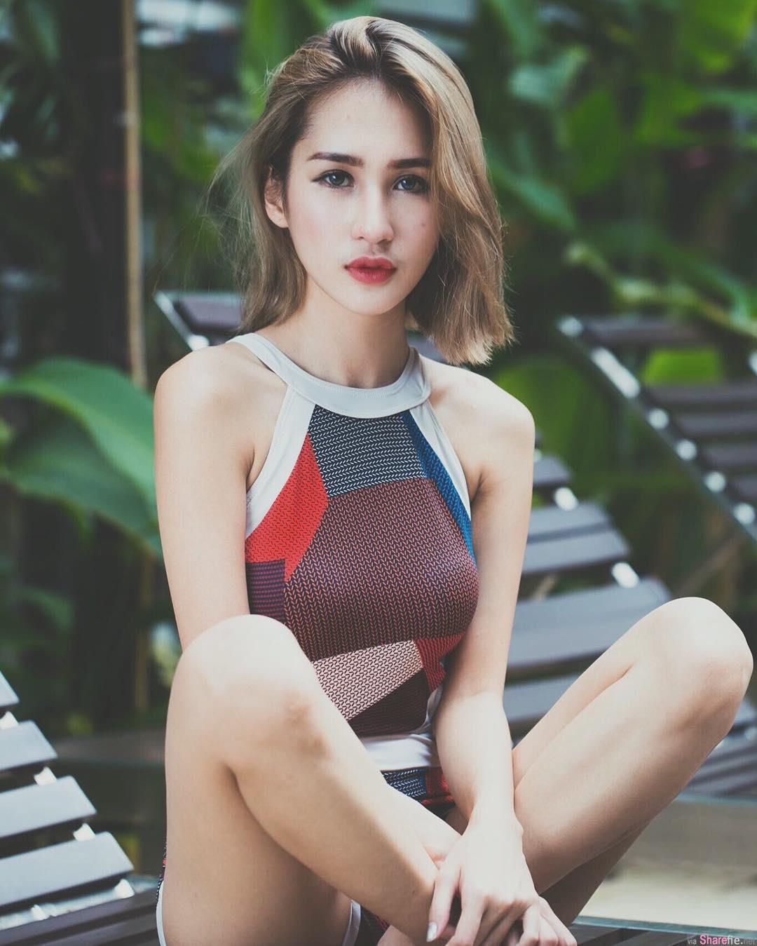 大马正妹麻豆Janiss Foong,难以抗拒的性感美唇
