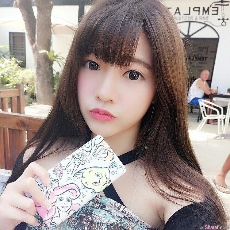 台湾正妹简欣汝「欣欣」梦幻美少女